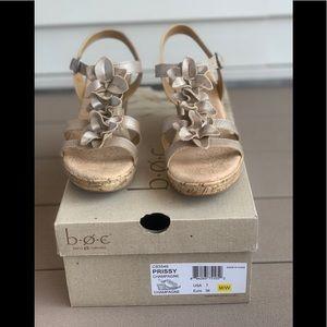 BOC champagne sandals